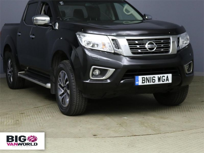 NISSAN NP300 NAVARA DCI 190 TEKNA 4X4 DOUBLE CAB WITH ROLL'N'LOCK TOP - 9186 - 1