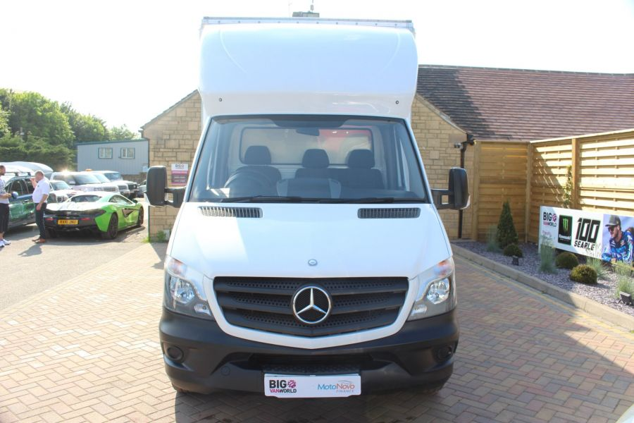 MERCEDES SPRINTER 313 CDI LWB CURTAIN SIDE BOX VAN - 6902 - 8