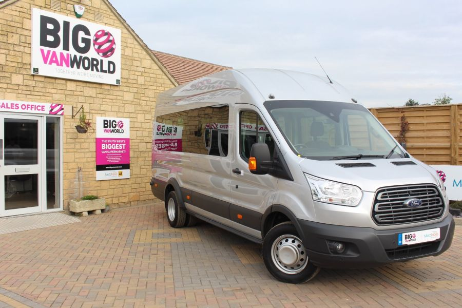 FORD TRANSIT 460 TDCI 125 L4 H3 TREND LWB HIGH ROOF 17 SEAT BUS RWD - 6563 - 1