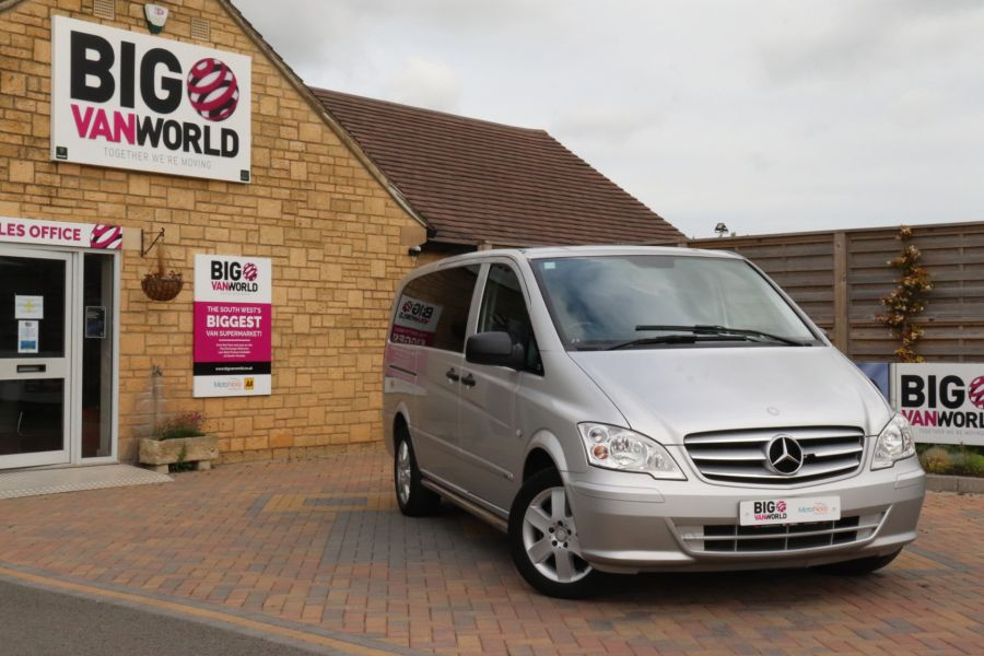 MERCEDES VITO 116 CDI 163 SPORT LWB LOW ROOF - 11041 - 1