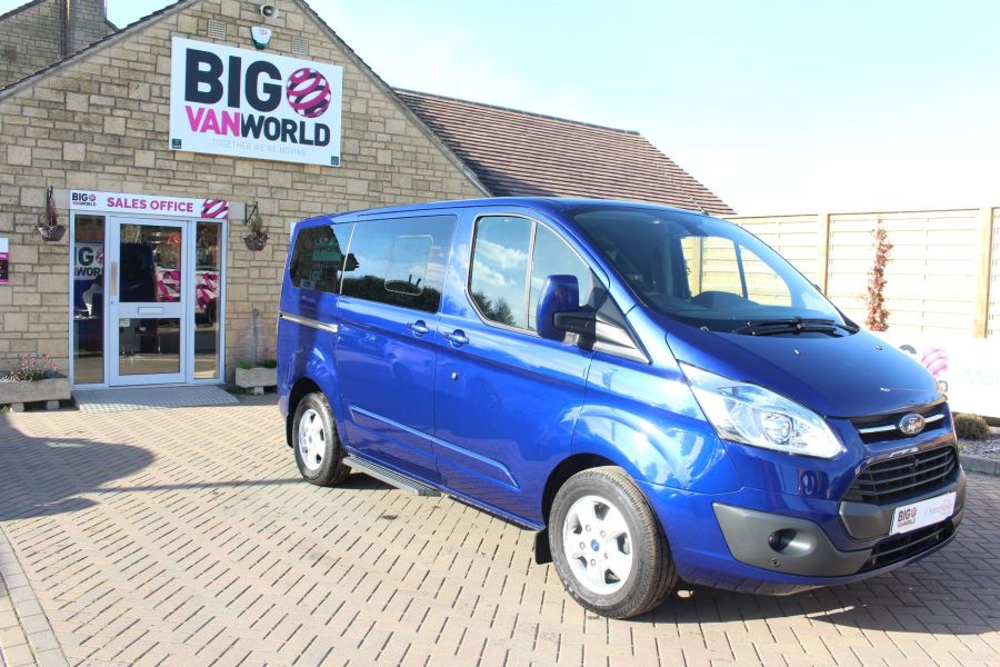 FORD TOURNEO CUSTOM 300 TDCI 125 L1 H1 LIMITED 9 SEAT MINIBUS SWB LOW ROOF FWD - 6857 - 2