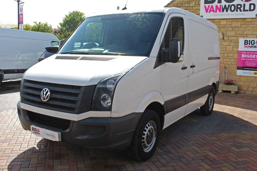 VOLKSWAGEN CRAFTER CR30 TDI 109 SWB LOW ROOF - 9154 - 9