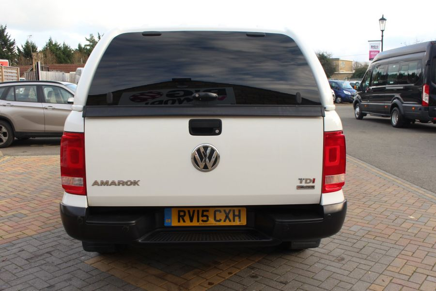 VOLKSWAGEN AMAROK DC TDI 140 STARTLINE 4MOTION DOUBLE CAB WITH TRUCKMAN TOP - 8652 - 6