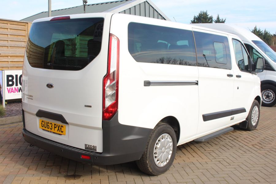 FORD TOURNEO CUSTOM 300 TDCI 125 ZETEC L2 H1 9 SEAT MINIBUS LWB LOW ROOF - 8771 - 5