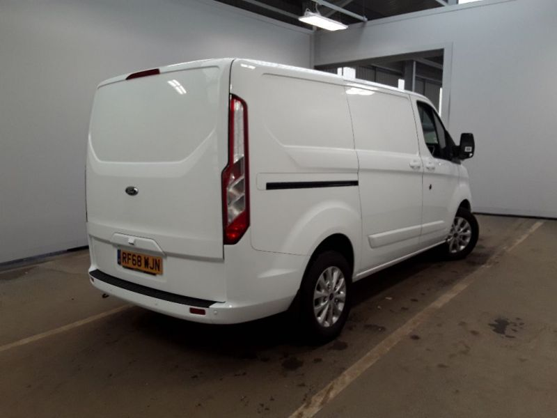 FORD TRANSIT CUSTOM 340 TDCI 130 L1H1 LIMITED SWB LOW ROOF FWD - 11262 - 3
