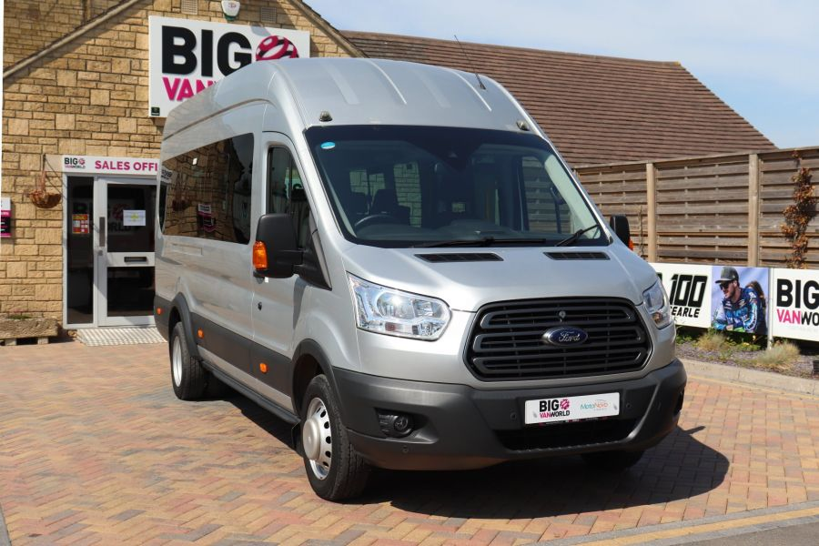 FORD TRANSIT 350 TDCI 155 L4H3 TREND 17 SEAT BUS HIGH ROOF DRW RWD  (13895) - 12177 - 4