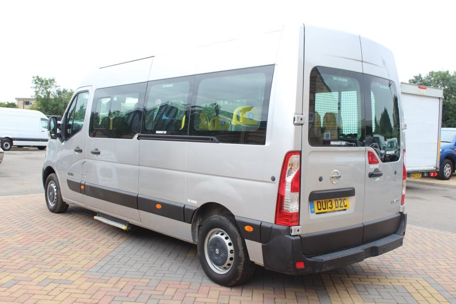 NISSAN NV400 F35 DCI 125 L3 H2 SE LWB MEDIUM ROOF 13 SEAT BUS - 6485 - 7
