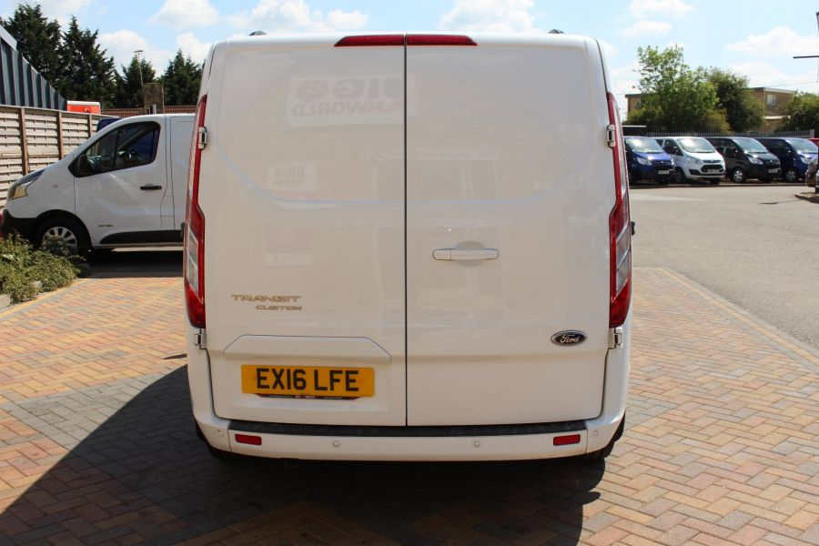 FORD TRANSIT CUSTOM 290 TDCI 125 L1 H1 LIMITED SWB DOUBLE CAB 6 SEAT CREW VAN FWD - 9206 - 6