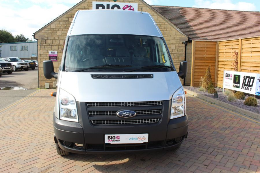 FORD TRANSIT 430 TDCI 135 LWB EL HIGH ROOF 17 SEATS BUS RWD - 6765 - 8