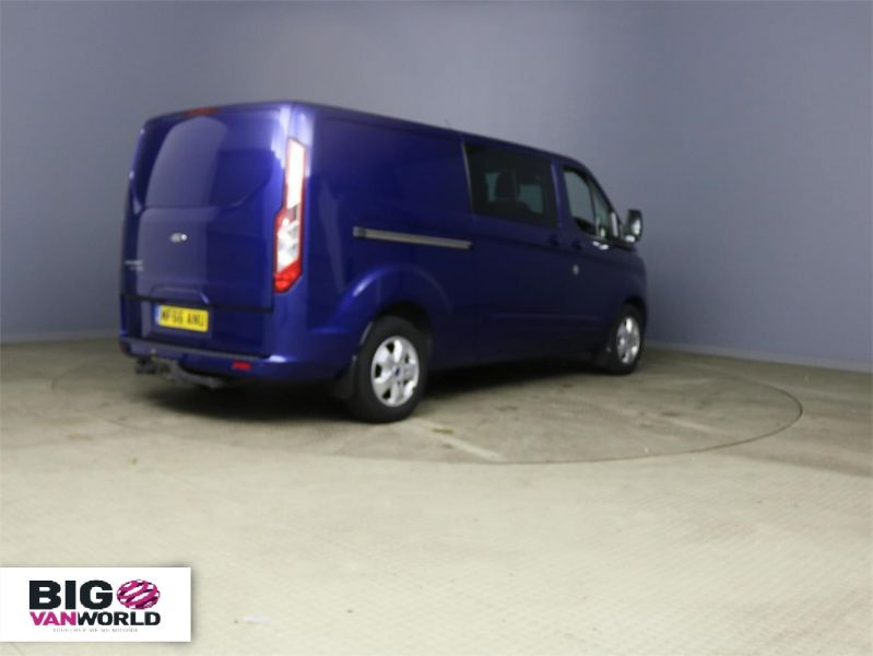 FORD TRANSIT CUSTOM 310 TDCI 170 L2H1 LIMITED DOUBLE CAB 6 SEAT CREW VAN LWB LOW ROOF - 10114 - 2