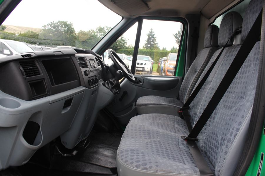FORD TRANSIT 350 TDCI MWB SINGLE CAB NEW ALLOY ARBORIST TIPPER - 6565 - 23