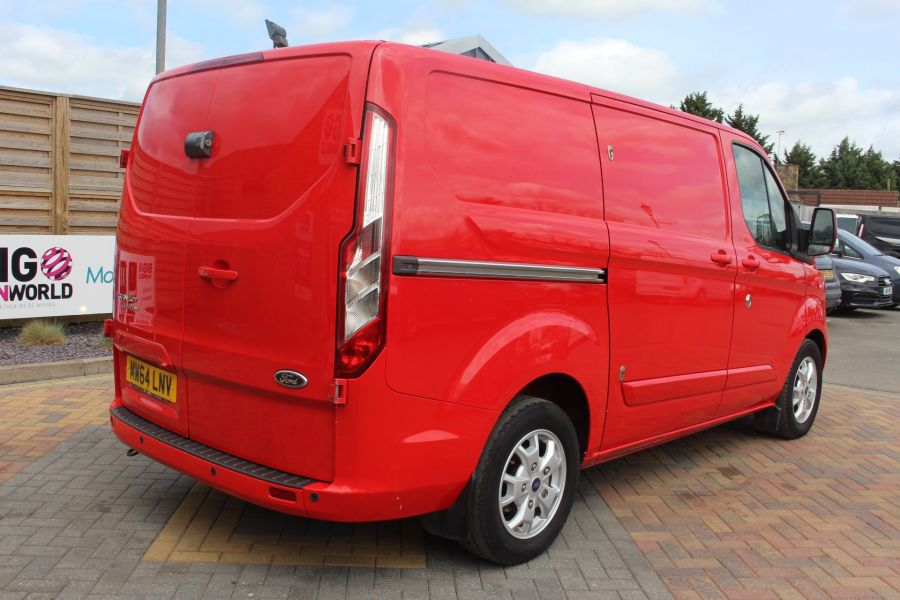 FORD TRANSIT CUSTOM 290 TDCI 125 L1 H1 LIMITED SWB LOW ROOF FWD - 9116 - 5