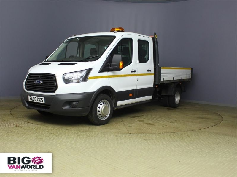 FORD TRANSIT 350 TDCI 130 L3 LWB 7 SEAT DOUBLE CAB 'ONE STOP' ALLOY TIPPER DRW RWD - 7634 - 5