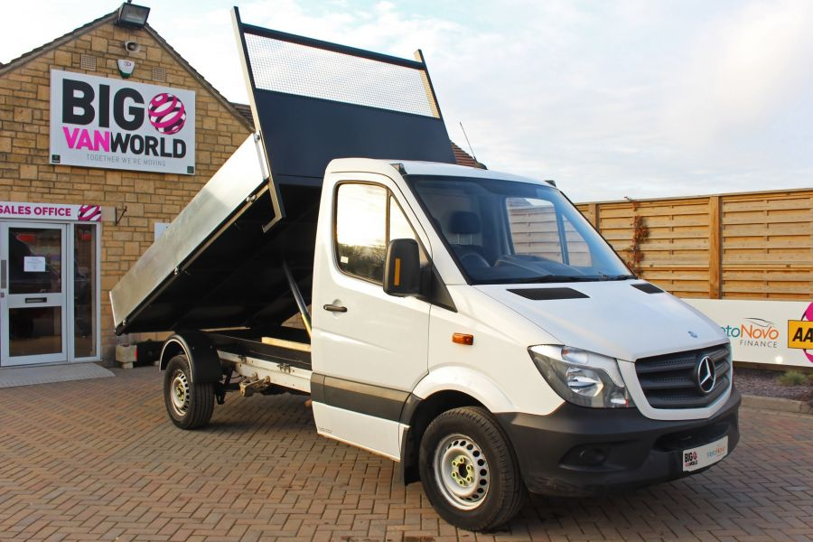 MERCEDES SPRINTER 313 CDI 129 SINGLE CAB NEW BUILD ALLOY TIPPER - 9673 - 3