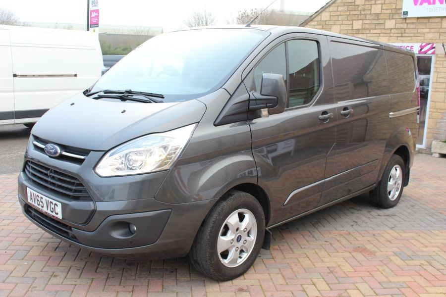 FORD TRANSIT CUSTOM 270 TDCI 125 L1 H1 LIMITED SWB LOW ROOF - 8050 - 8