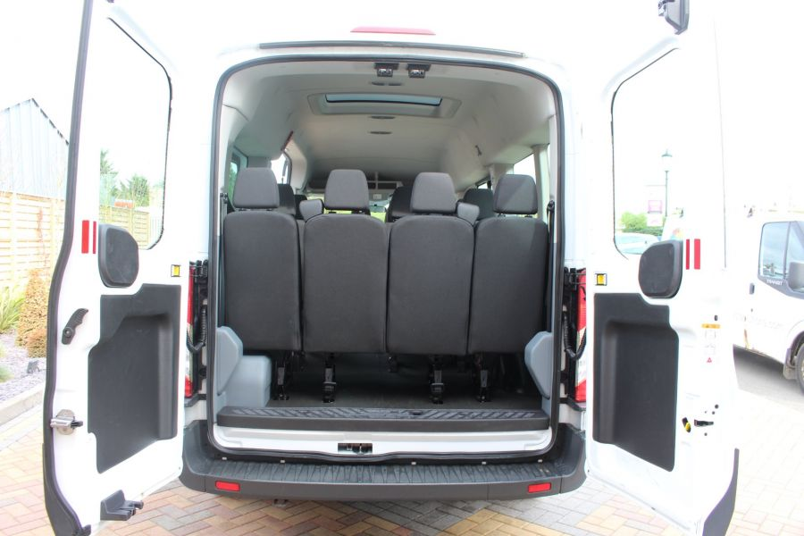 FORD TRANSIT 410 TDCI 125 L3 H2 15 SEAT BUS LWB MEDIUM ROOF - 6975 - 8