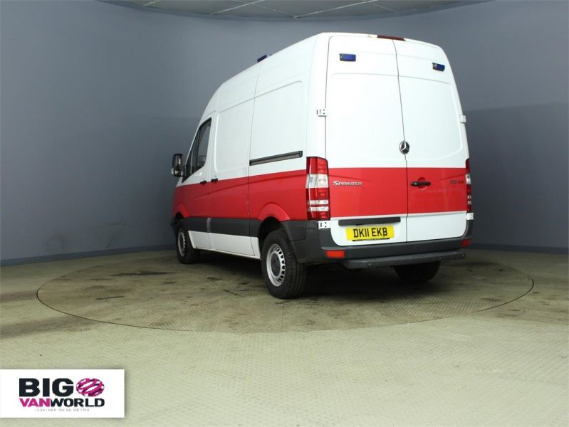 MERCEDES SPRINTER 313 CDI MWB HIGH ROOF FRIDGE WITH OVERNIGHT - 7388 - 4