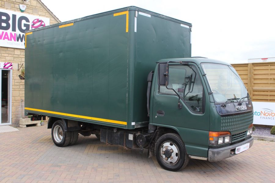 ISUZU TRUCKS NKR 77 TURBO ELECTRIC DI BOX VAN - 6361 - 1