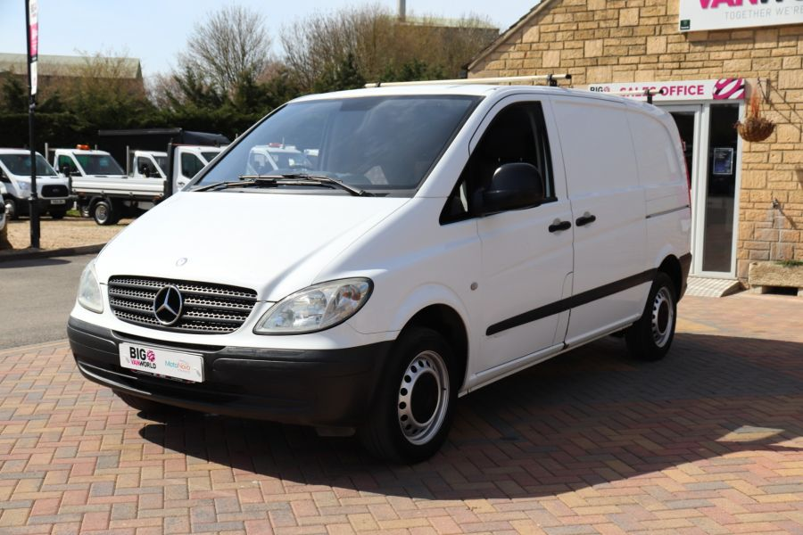 MERCEDES VITO 109 CDI 95 COMPACT SWB LOW ROOF - 10639 - 10