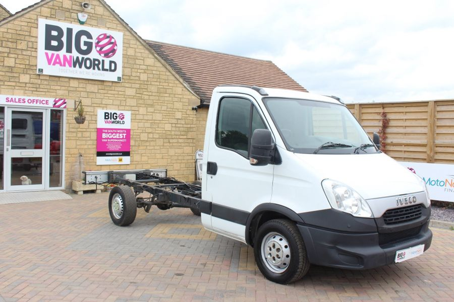 IVECO DAILY 35S11 SINGLE CAB CHASSIS CAB 3750 WB - 7590 - 3