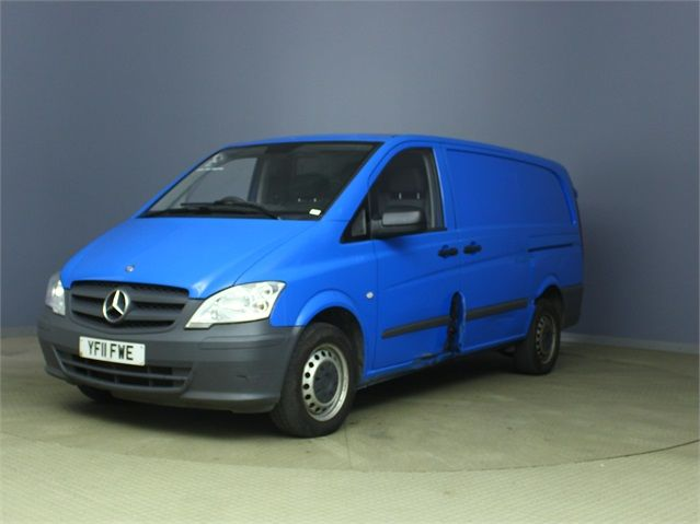 MERCEDES VITO 116 CDI 163 LWB LOW ROOF - 6623 - 5
