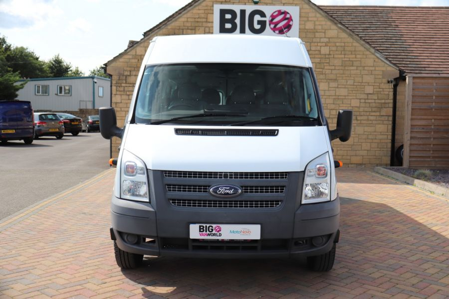 FORD TRANSIT 430 TDCI 135 EL LWB 17 SEAT BUS MEDIUM ROOF DRW RWD - 9732 - 10