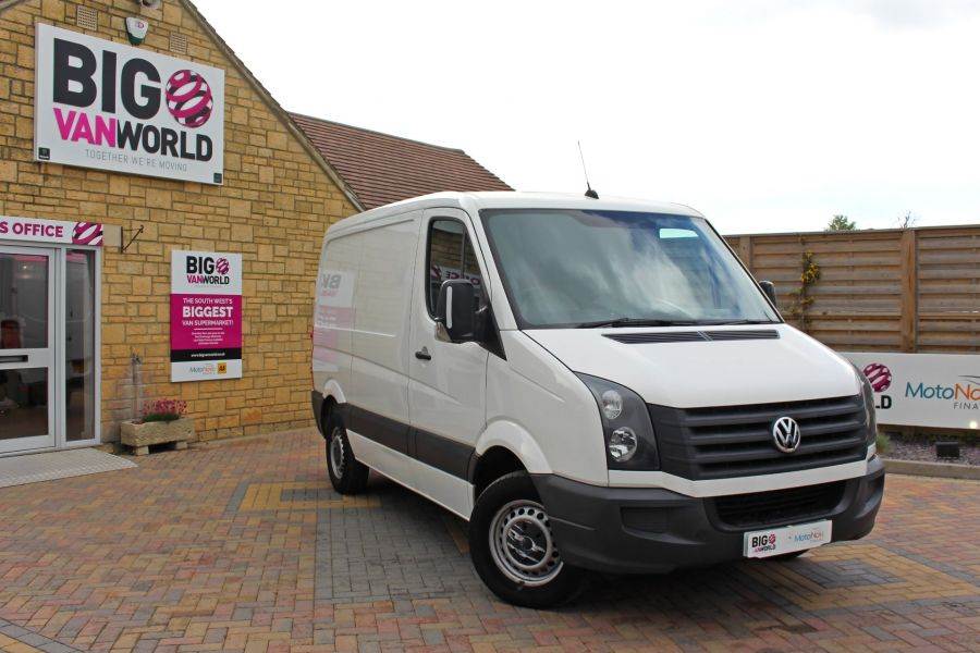 VOLKSWAGEN CRAFTER CR30 TDI 109 SWB LOW ROOF - 9154 - 2