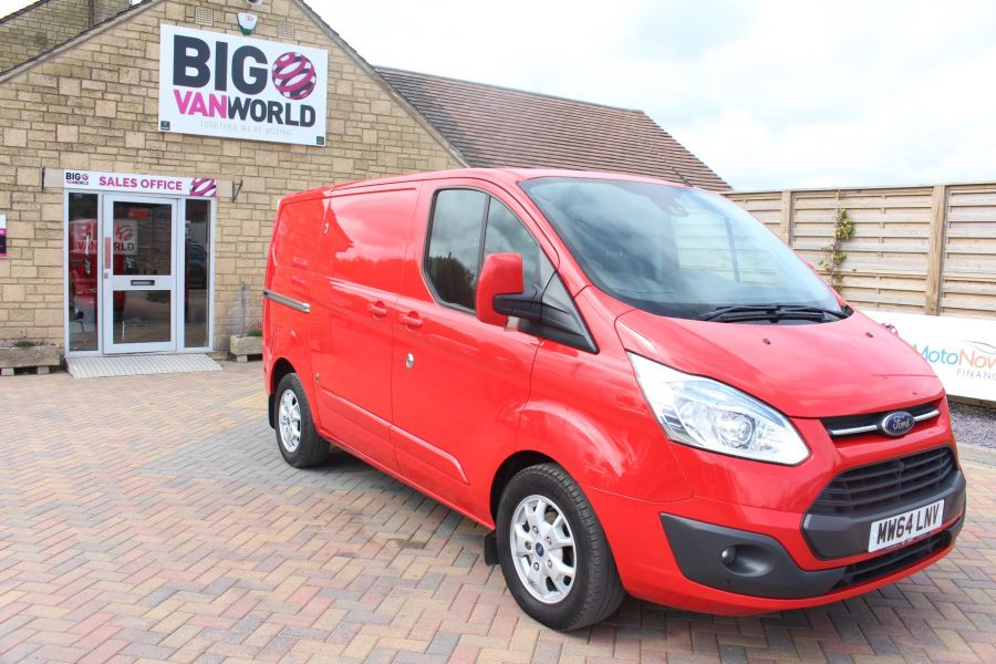 FORD TRANSIT CUSTOM 290 TDCI 125 L1 H1 LIMITED SWB LOW ROOF FWD - 9116 - 3
