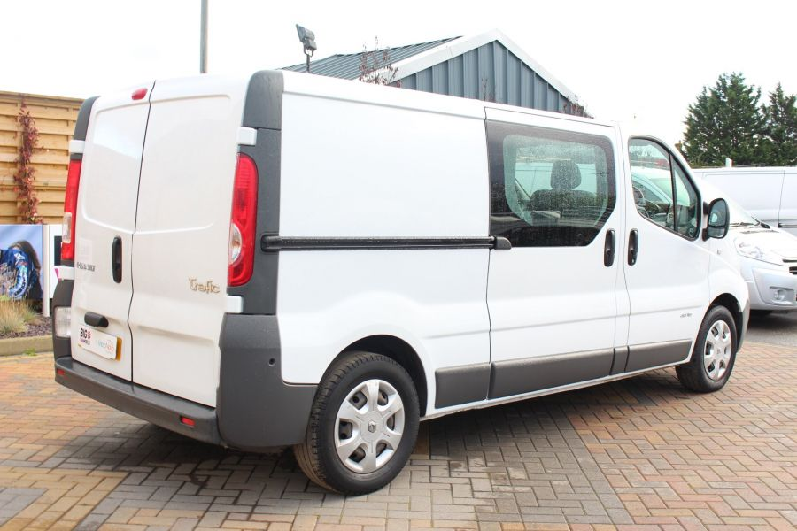 RENAULT TRAFIC LL29 DCI 115 L2 H1 DOUBLE CAB LWB CREW VAN - 6787 - 5