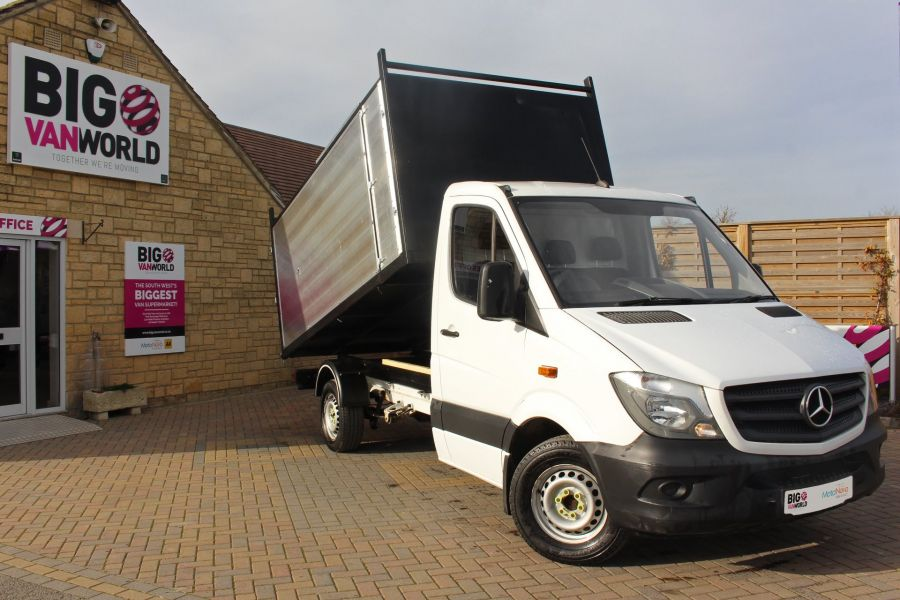 MERCEDES SPRINTER 313 CDI 129 MWB SINGLE CAB NEW BUILD ARBORIST ALLOY TIPPER - 10501 - 1