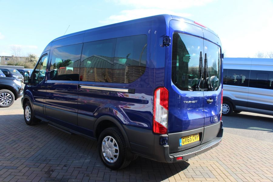 FORD TRANSIT 410 TDCI 125 L3 H2 TREND 15 SEAT BUS LWB MEDIUM ROOF RWD - 9007 - 7