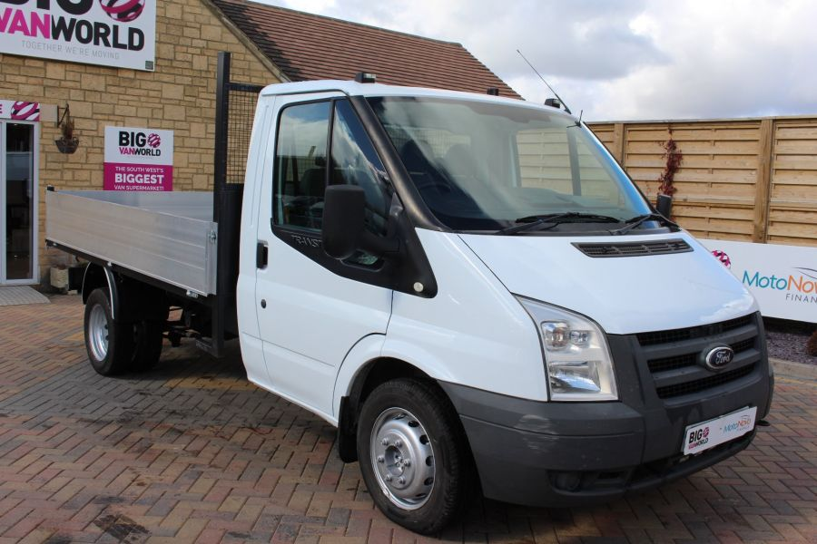 FORD TRANSIT 350 TDCI 100 MWB SINGLE CAB ALLOY TIPPER - 7589 - 10