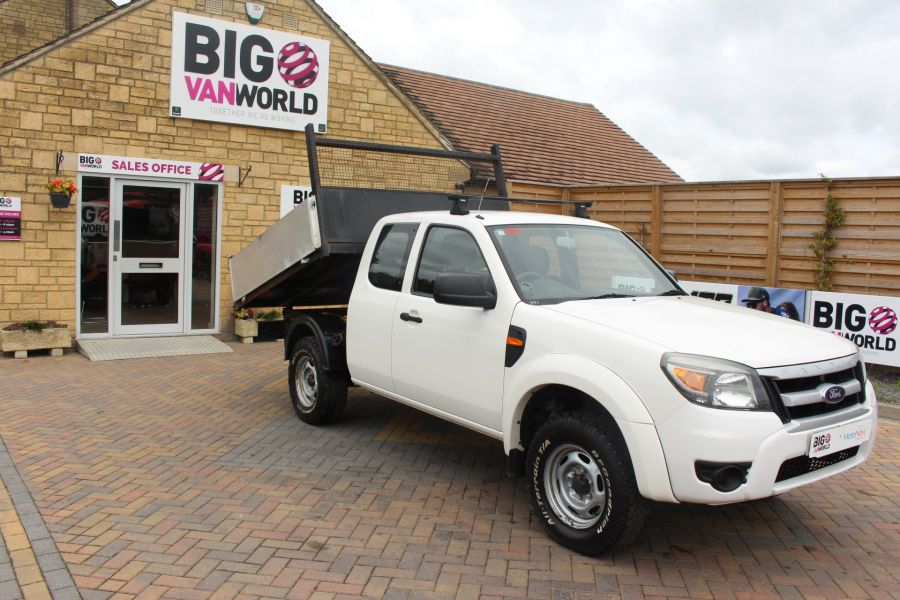FORD RANGER XL 4X4 TDCI SUPER CAB ALLOY TIPPER - 6057 - 3
