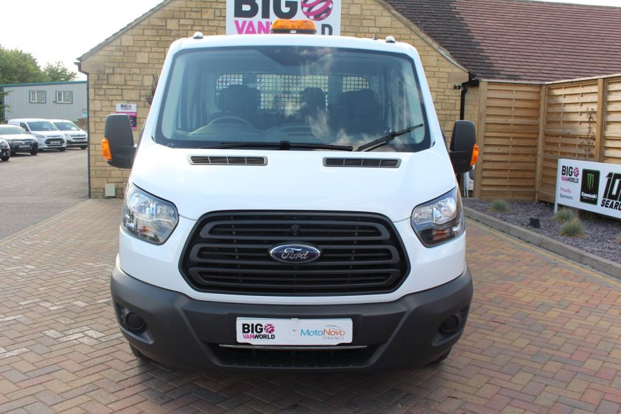 FORD TRANSIT 350 TDCI 130 L3 LWB 7 SEAT DOUBLE CAB 'ONE STOP' ALLOY TIPPER DRW RWD - 7634 - 17