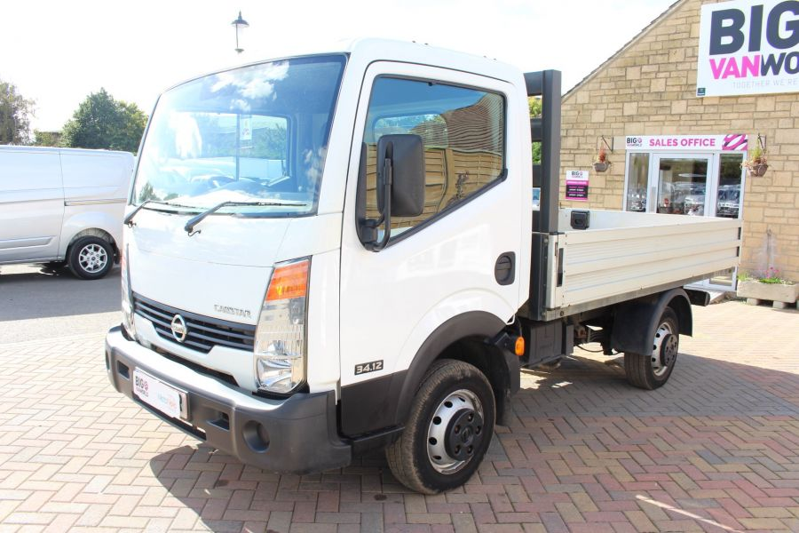 NISSAN CABSTAR 34.12 DCI 121 SWB ALLOY DROPSIDE - 6795 - 8