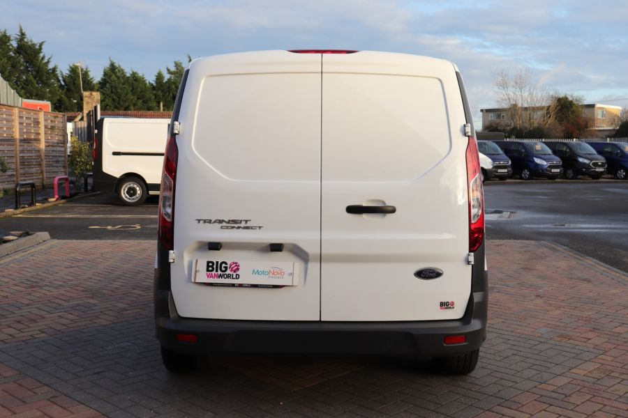 FORD TRANSIT CONNECT 220 TDCI 75 L1H1 DOUBLE CAB 5 SEAT CREW VAN SWB LOW ROOF - 11536 - 9