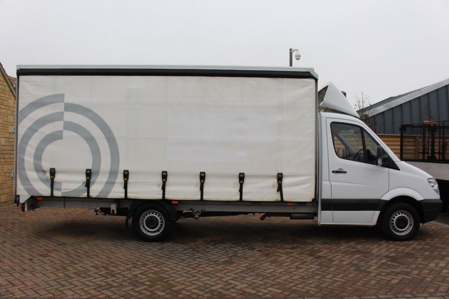 MERCEDES SPRINTER 313 CDI LWB 17FT CURTAIN SIDE BOX - 7006 - 4