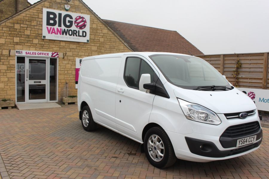 FORD TRANSIT CUSTOM 290 TDCI 155 L1 H1 LIMITED SWB LOW ROOF FWD - 9074 - 3