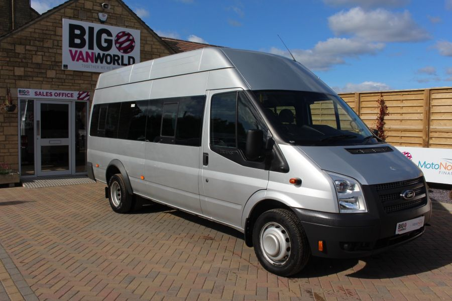 FORD TRANSIT 430 TDCI 135 LWB EL HIGH ROOF 17 SEATS BUS RWD - 6765 - 2