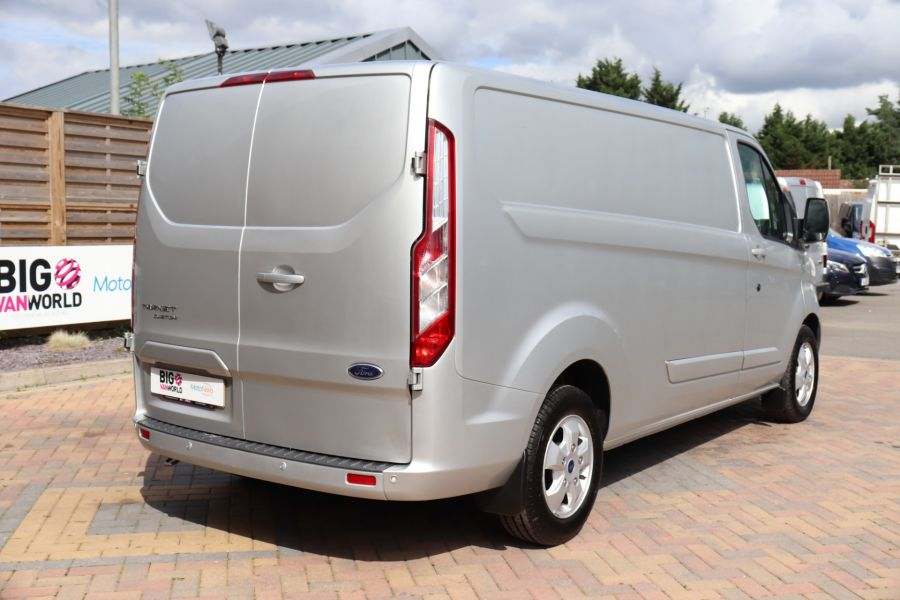 FORD TRANSIT CUSTOM 290 TDCI 130 L2H1 LIMITED LWB LOW ROOF FWD - 12272 - 8