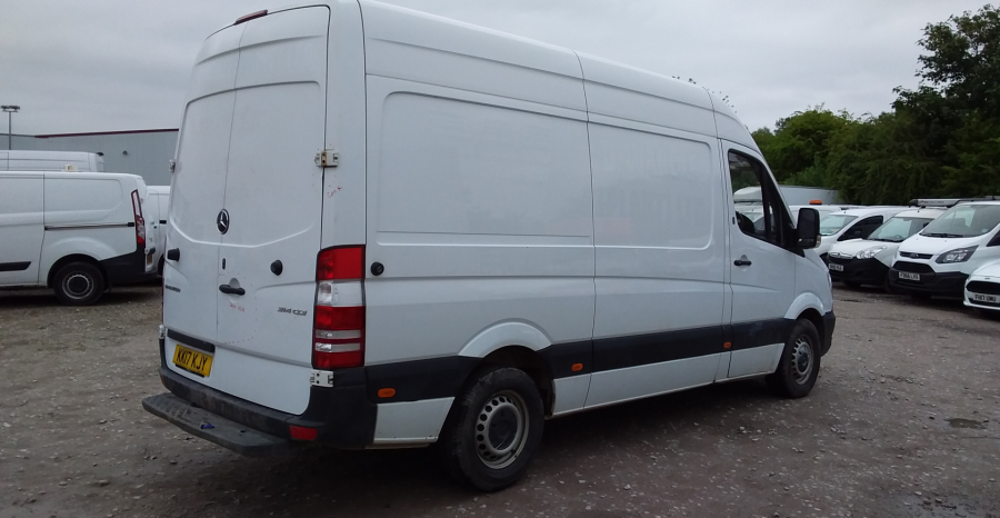 MERCEDES SPRINTER 314 CDI 140 MWB HIGH ROOF - 10876 - 4