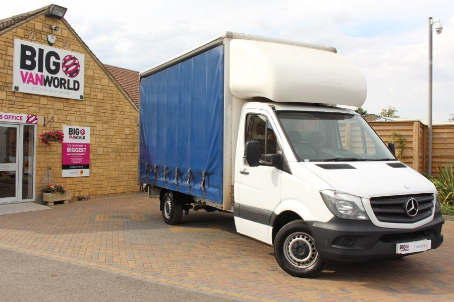 MERCEDES SPRINTER 313 CDI 129 LWB CURTAINSIDER - 7969 - 2