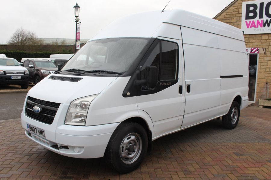 FORD TRANSIT 350 TDCI 100 LWB HIGH ROOF RWD - 9107 - 8