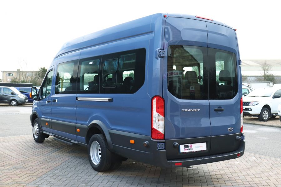 FORD TRANSIT 460 TDCI 155 L4H3 17 SEAT BUS HIGH ROOF DRW RWD - 10252 - 8