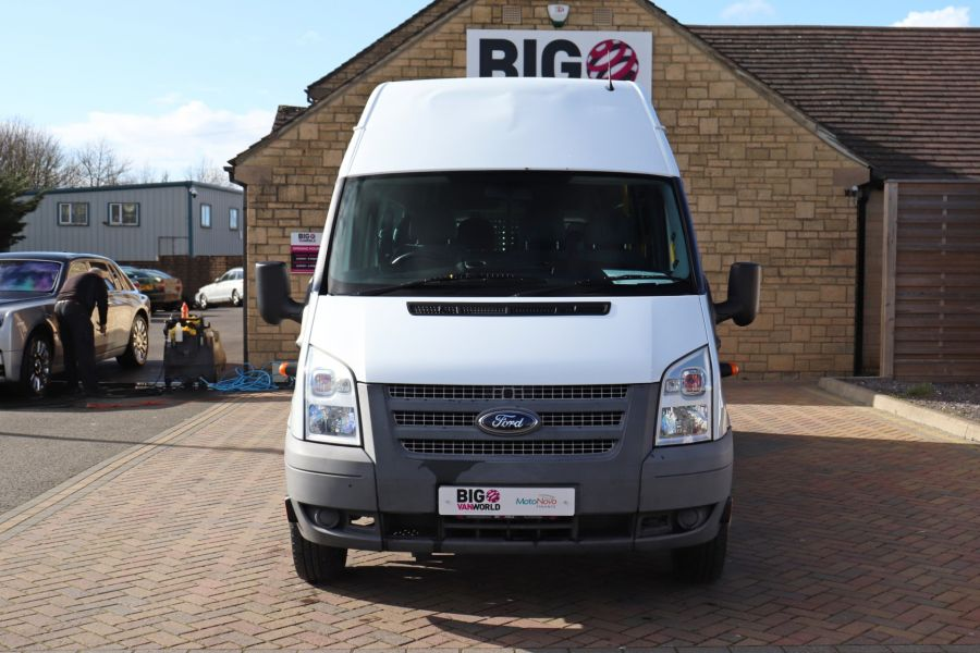 FORD TRANSIT 430 TDCI 135 EL LWB 17 SEAT BUS HIGH ROOF WITH WHEELCHAIR ACCESS RAMP DRW RWD - 10401 - 11