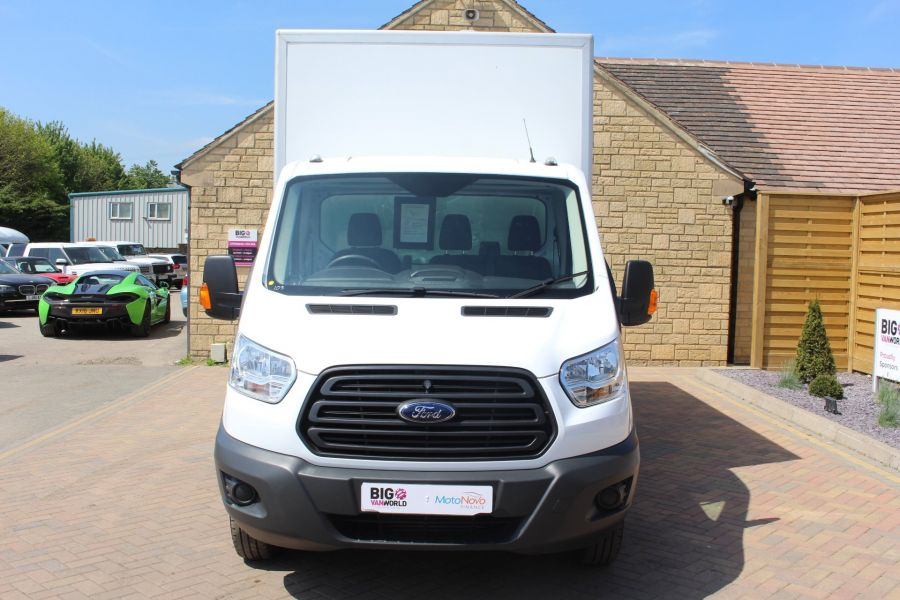 FORD TRANSIT 350 TDCI 125 L4 DRW 'ONE STOP' HIGH CAPACITY LUTON BOX WITH TAIL LIFT - 6135 - 8