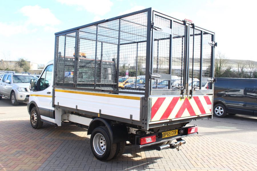 FORD TRANSIT 350 TDCI 125 SINGLE CAB 'ONE STOP' CAGED TIPPER DRW RWD - 7297 - 14