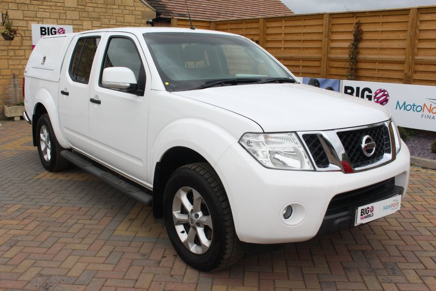 NISSAN NAVARA DCI ACENTA 4X4 DOUBLE CAB WITH TRUCKMAN TOP - 6447 - 3