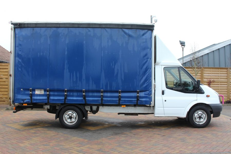 FORD TRANSIT 350 TDCI 125 LWB CURTAIN SIDE FWD - 6982 - 3