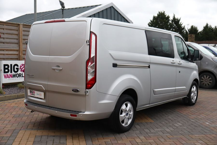 FORD TRANSIT CUSTOM 310 TDCI 130 L2H1 LIMITED DOUBLE CAB 6 SEAT CREW VAN  LWB LOW ROOF FWD  - 9968 - 5